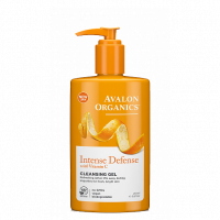 Avalon Organics Intense Defense with Vitamin C Cleansing Gel - Avalon Organics гель очищающий с витамином С